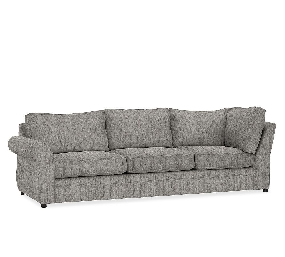 Build Your Own Pearce Roll Arm Upholstered Sectional Components