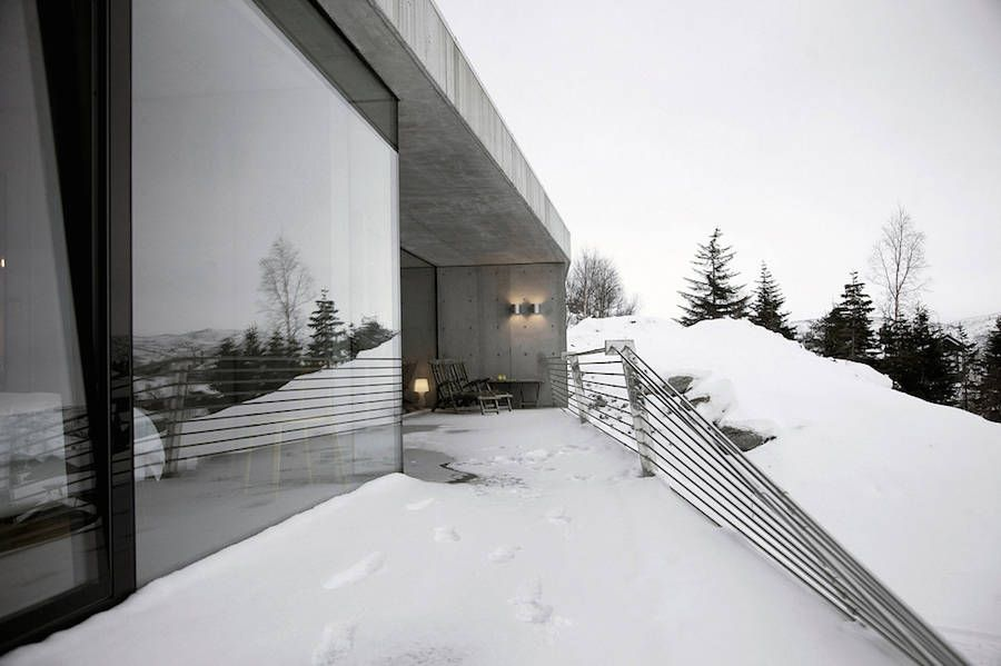 Modern Concrete House in Norway   Concrete houses and Architecture