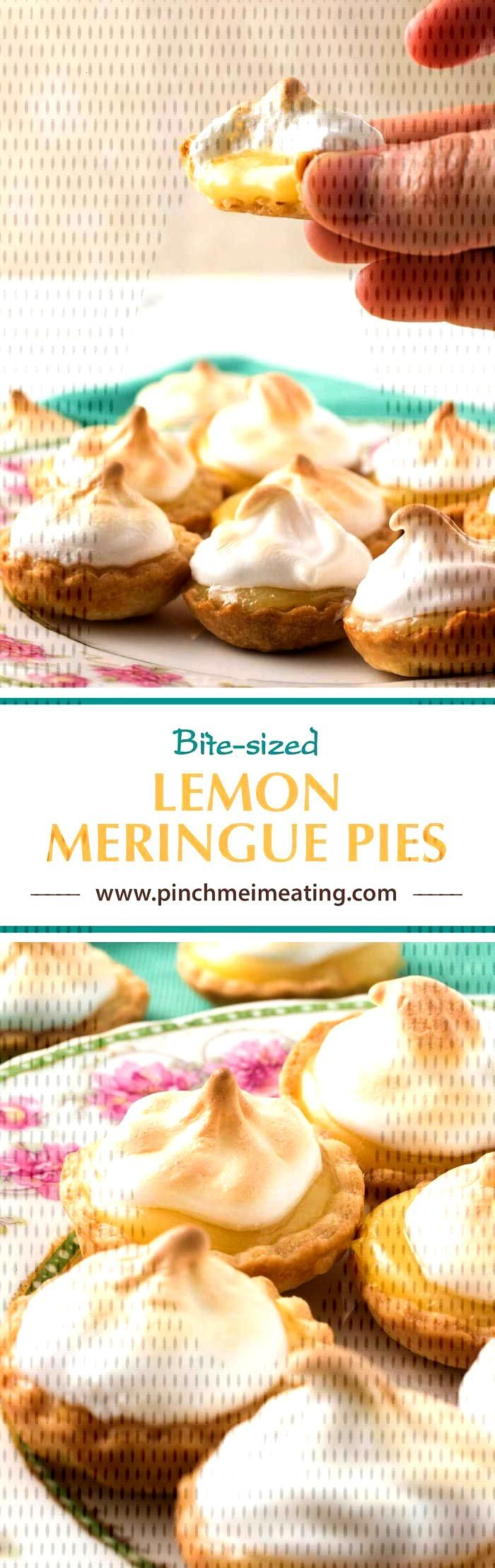 Mini Lemon Meringue Pies   Pinch me, Im eating! -