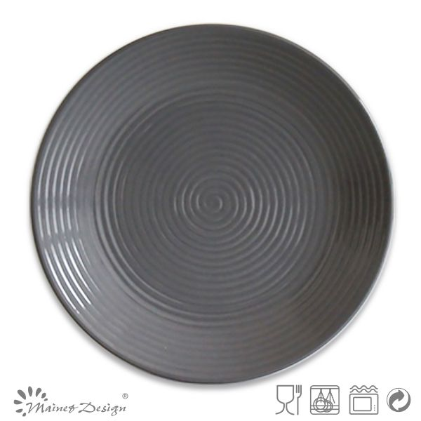 10.5inch dark grey color glazed cheap ceramic dinner platesceramic plates and cups  sc 1 st  Pinterest & 10.5inch dark grey color glazed cheap ceramic dinner platesceramic ...