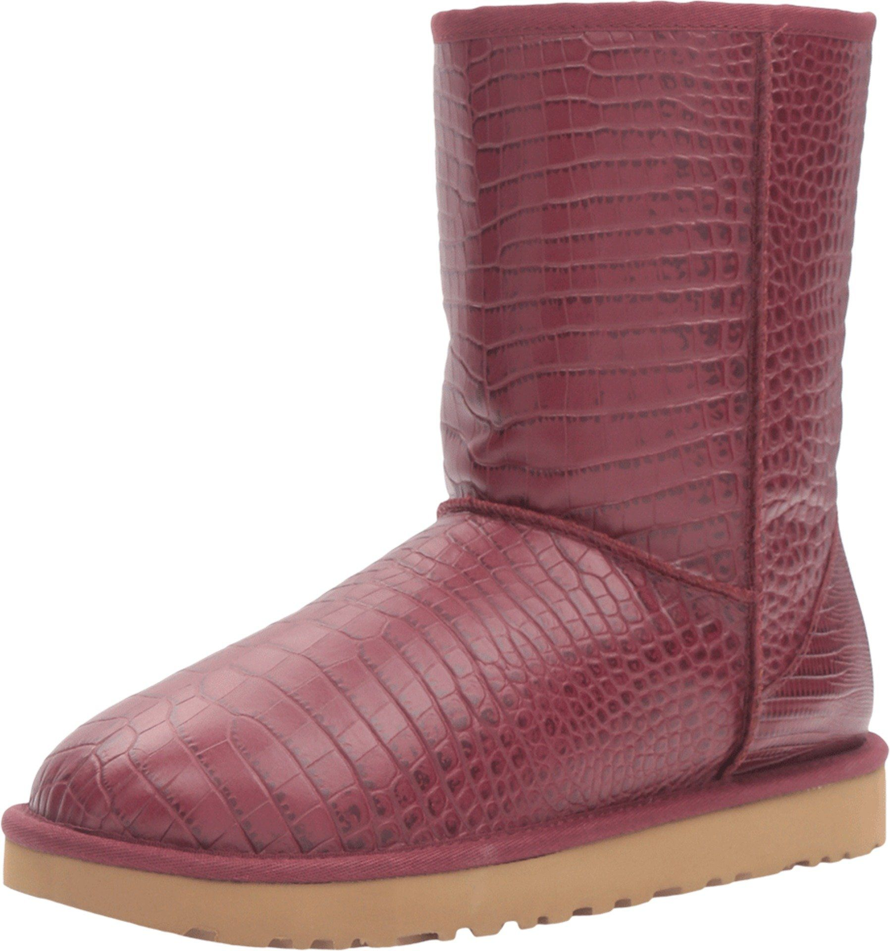 ugg women s classic short croco lonely hearts boot 6 b m shoes rh pinterest com