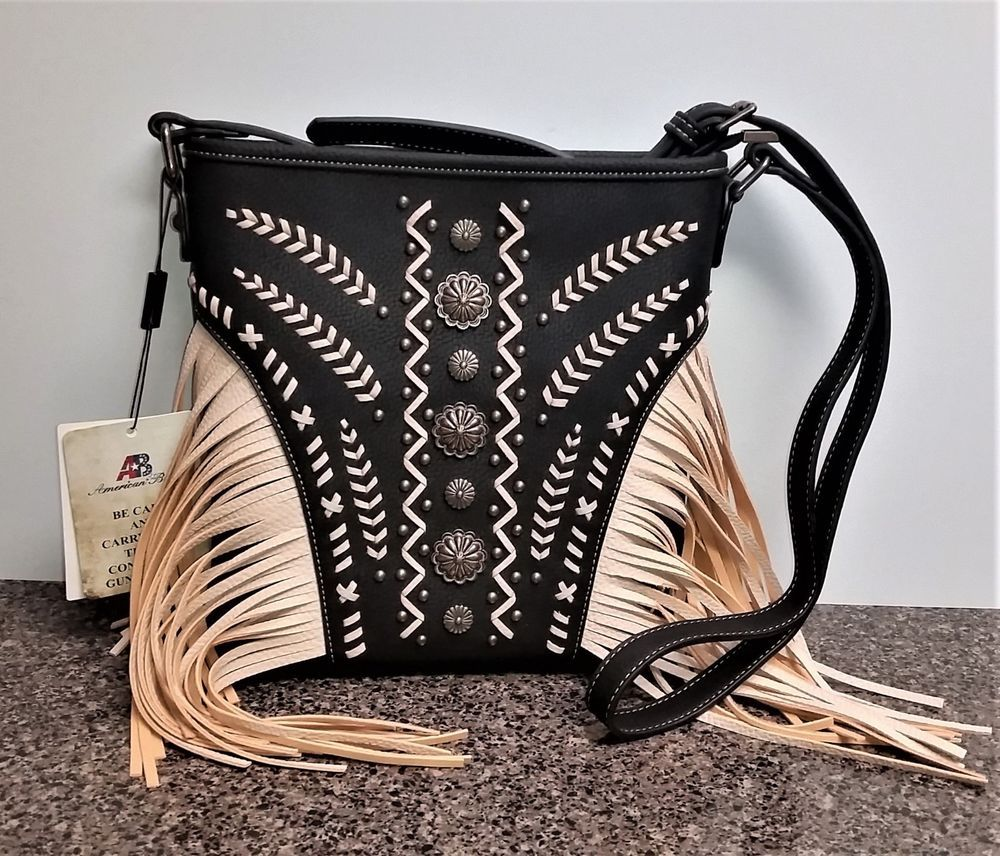 f3d26d671 Newly Listed Montana West American Bling Concealed Carry Crossbody Bag  Fringe Western Purse #MontanaWest #Crossbody