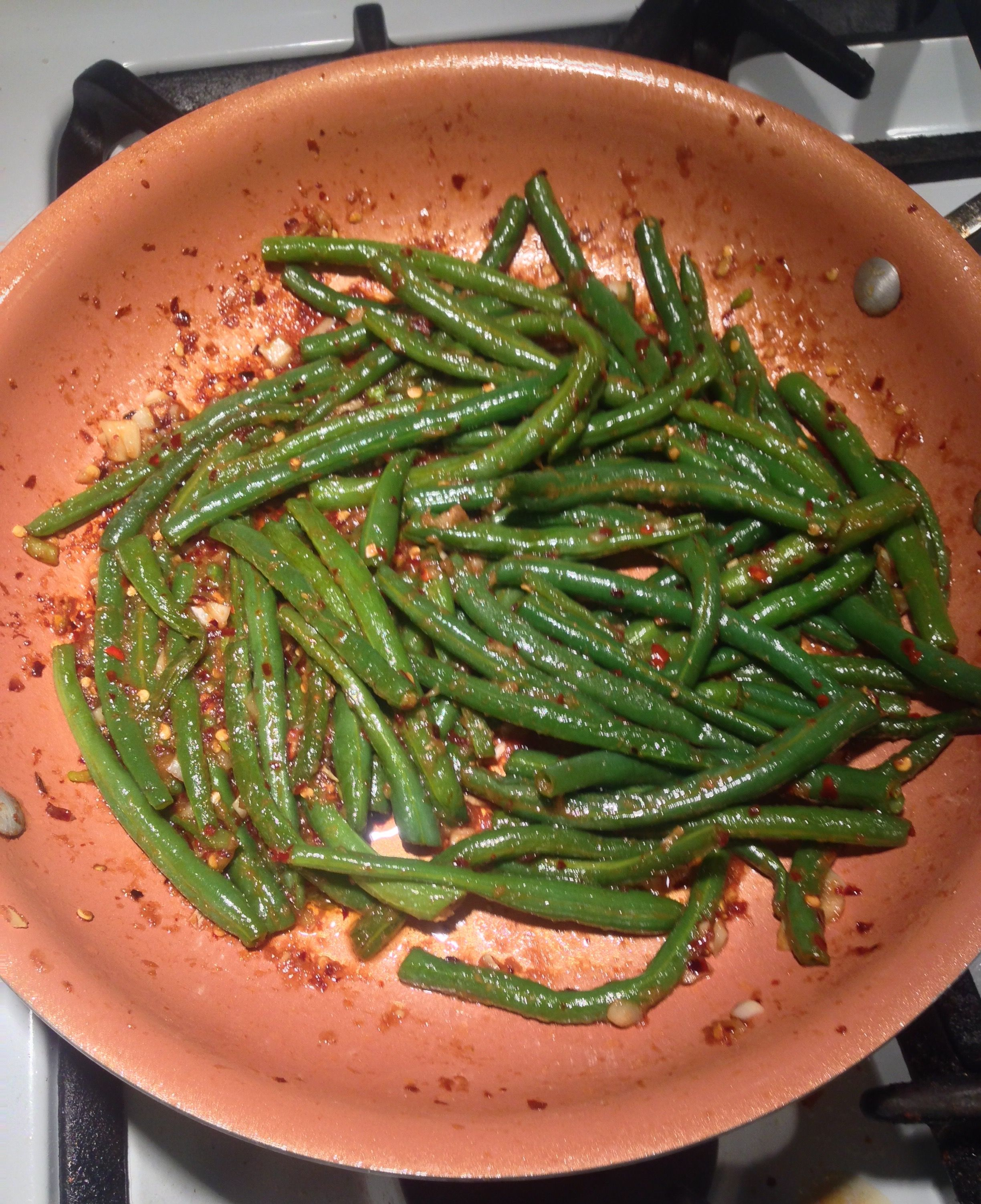 Pf Chang S Spicy Green Beans Recipe Food Com Recipe Green Bean Recipes Spicy Green Bean Recipes Pf Changs Spicy Green Beans Recipe