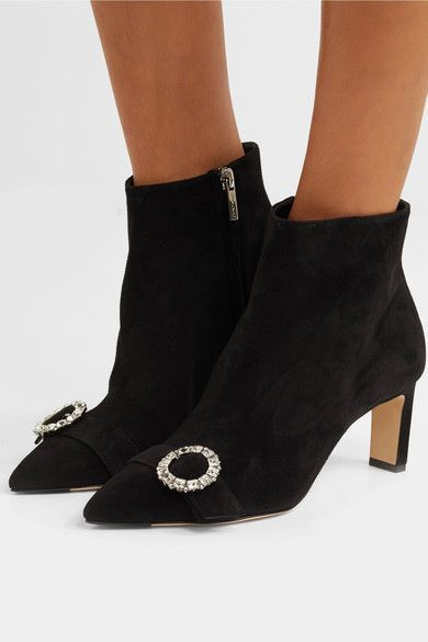 Jimmy Choo Hanover 65 suede ankle boots discount free shipping free shipping affordable extremely cheap online pay with visa for sale tumblr OaGa13nG