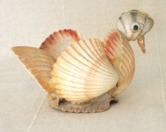Vintage whatnot figurines 10 20 dollar specials folk for Animals made out of seashells
