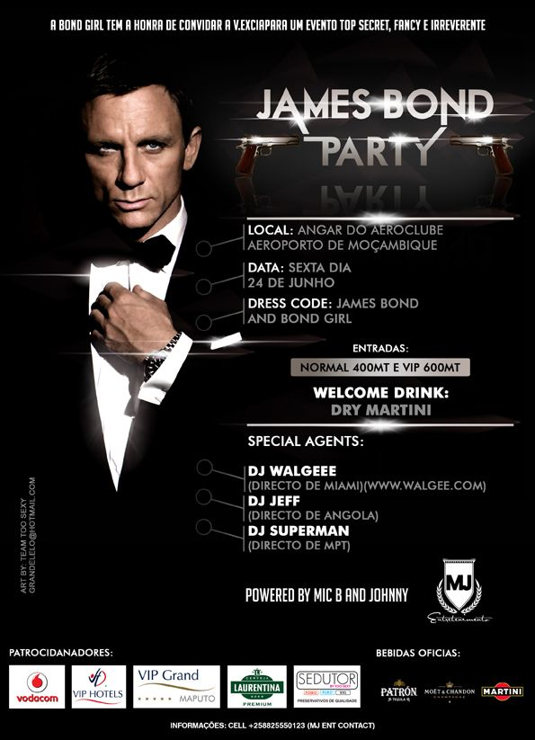 james bond theme party google search bond james bond pinterest james bond party. Black Bedroom Furniture Sets. Home Design Ideas