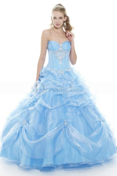 Cinderella Sweet Sixteen Dress