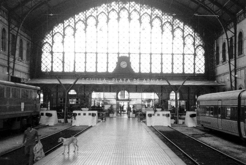 Fotos De La Sevilla Del Ayer Pagina 4antigua Estacion De Trenes