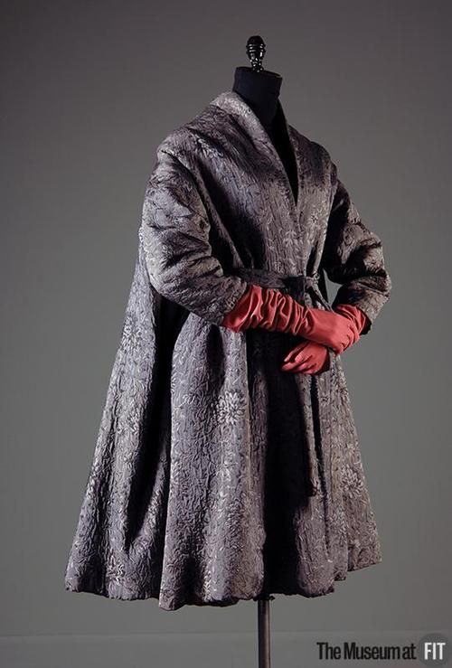 Coat    Madame Grès, 1950    The Museum at FIT