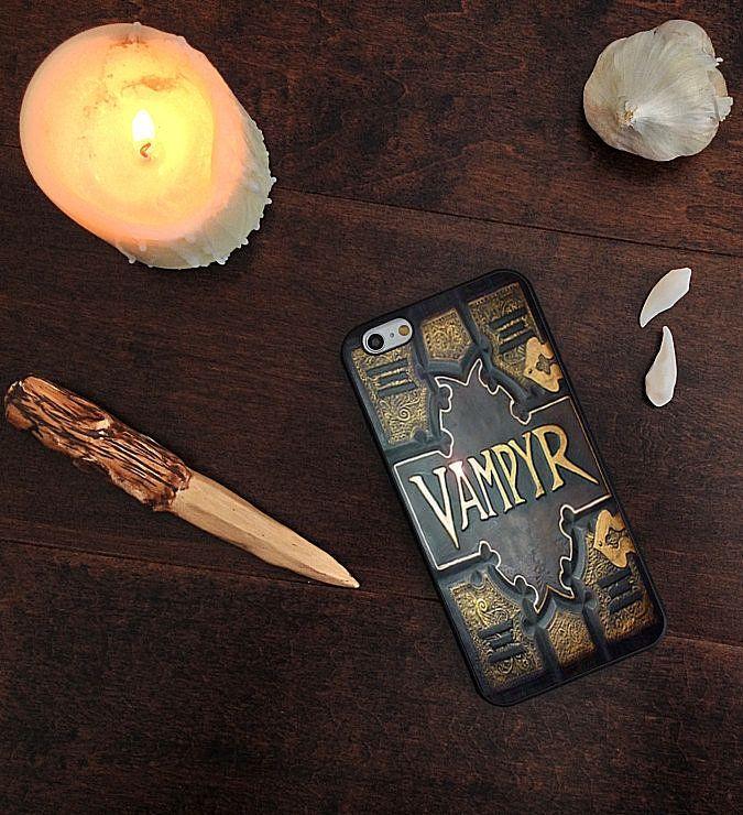 Vampyr Book Phone Case ($12-$20)