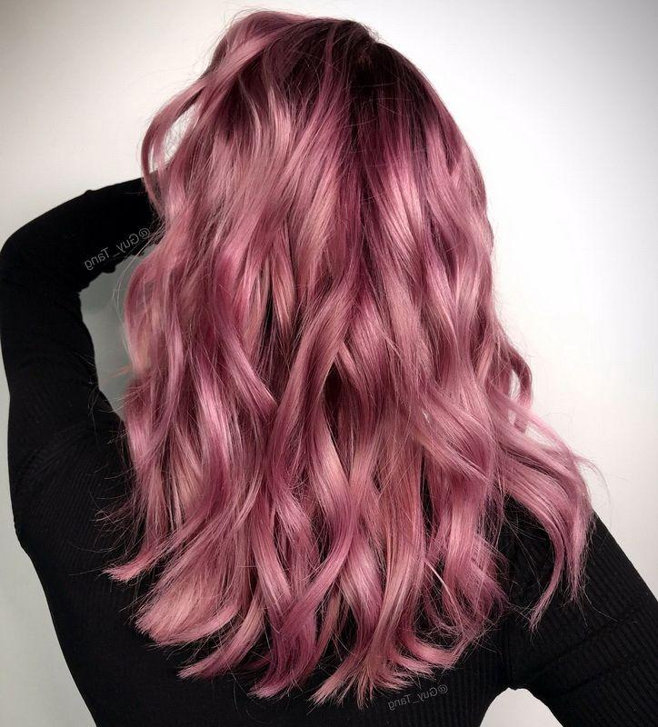 36+ Dark rose gold hair color ideas information