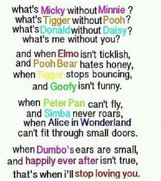 Disney poem stuff i love Inspirational quotes, Life
