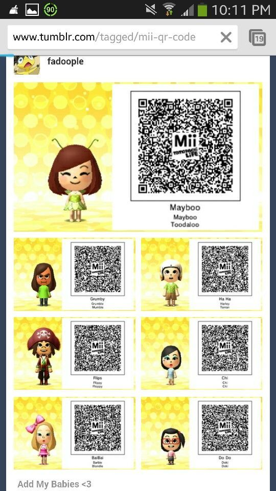Tomodachi 3ds Qr Codes Kawaii Google Search Jeux Jeux Video Video