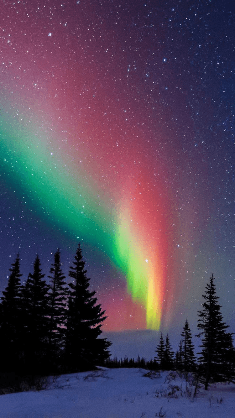 1080p Northern Lights Iphone Wallpaper In 2020 Northern Lights Canada Towns Nature Photography