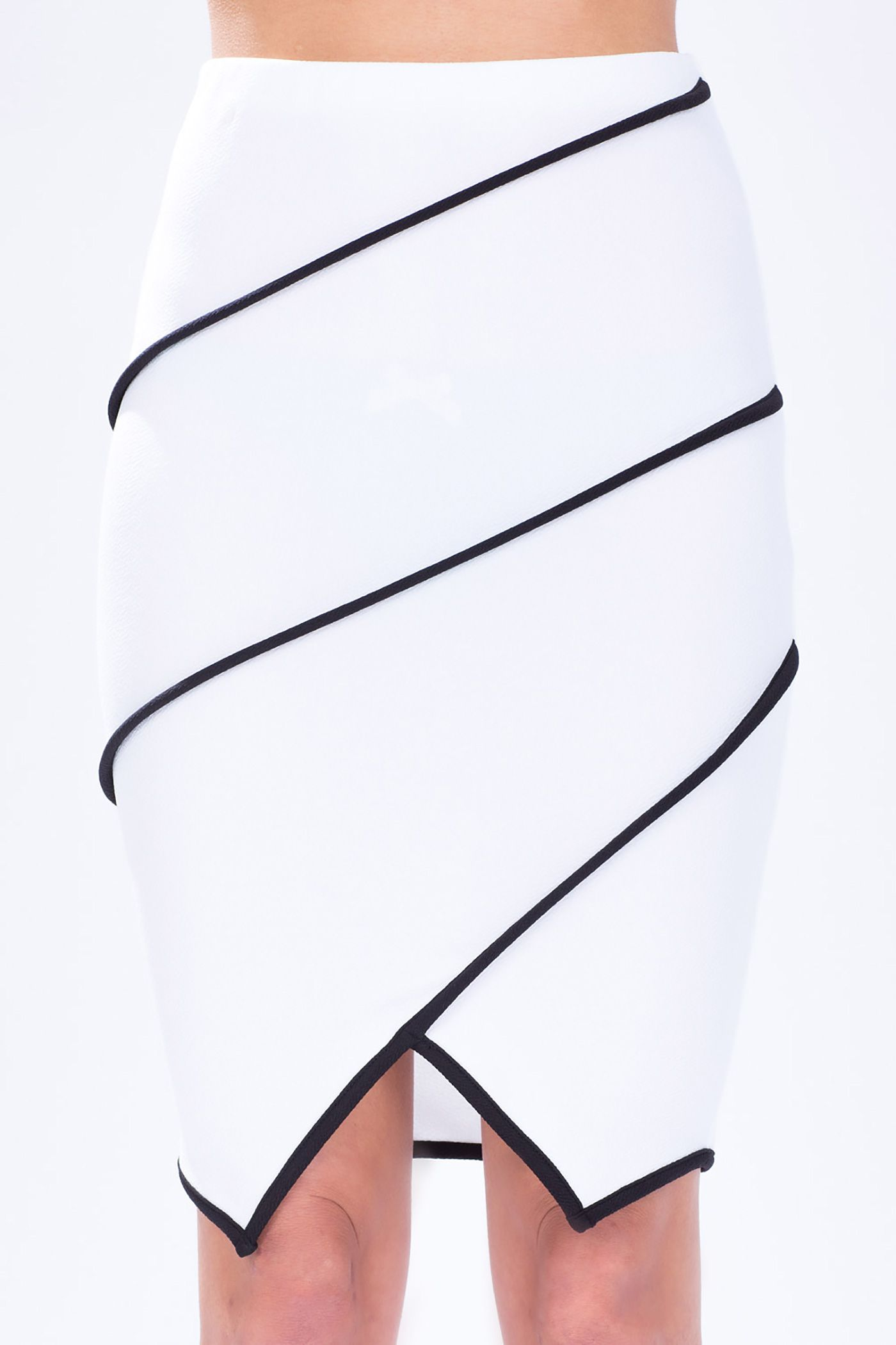 Piped Origami Pencil Skirt | Fashion designers | Pinterest | Rock ...