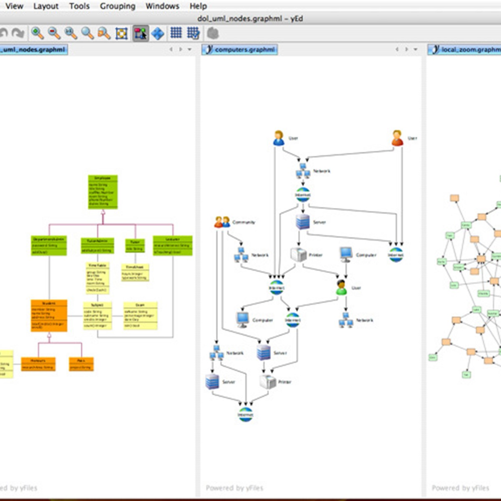 yEd is a powerful diagram editor that can be used to ...