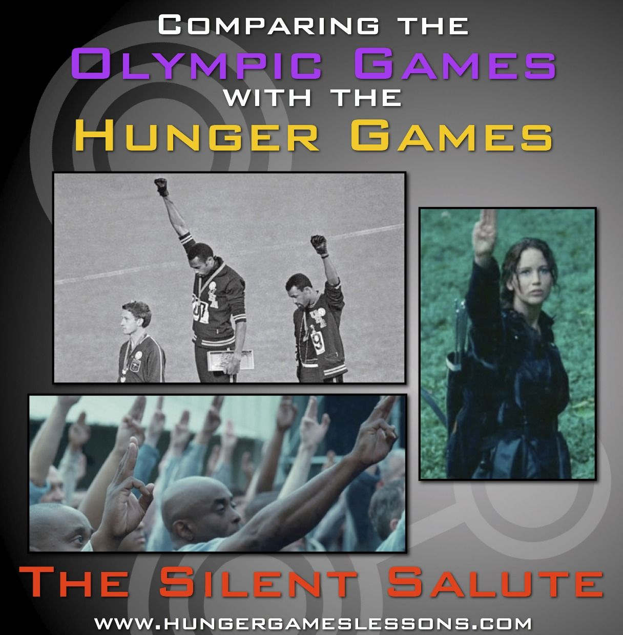 Hunger Games Lessons The Original Silent Salute