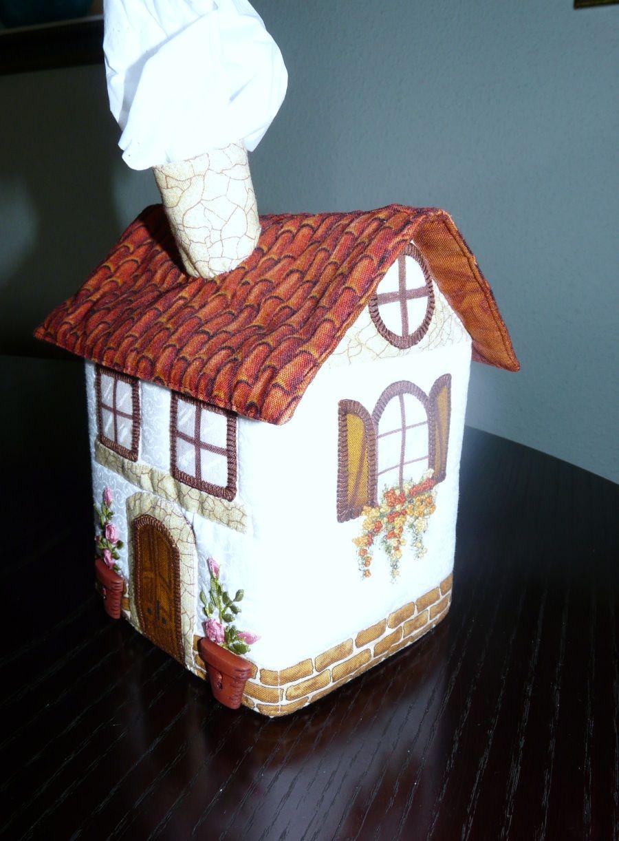 Casas costurero patchwork casitas patchwork y carro casa - Casas de patchwork ...