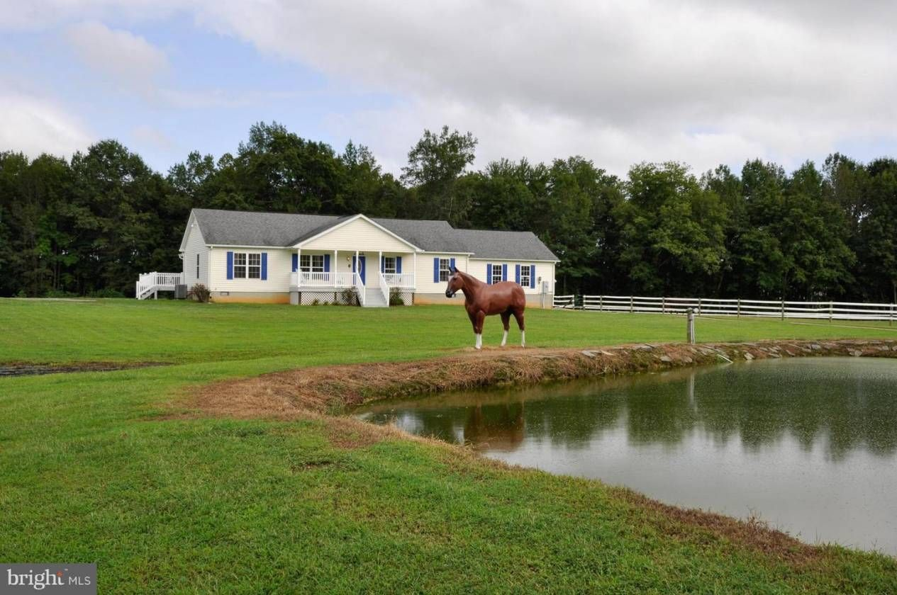 Horse Property For Sale In King George County Virginia