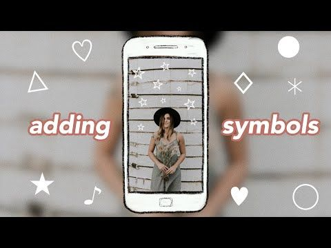 How to Add Symbols to Your Instagram Stories Without