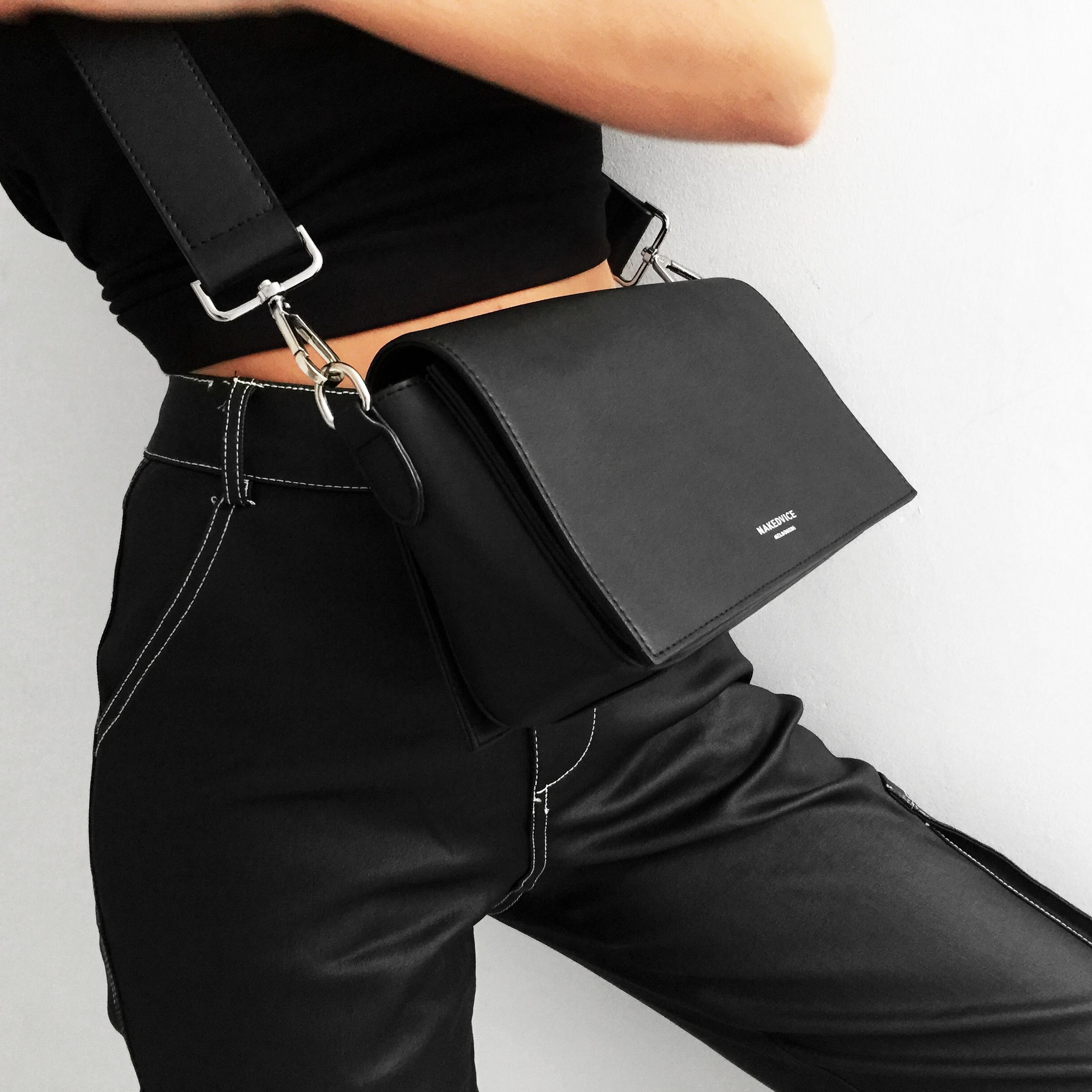 The Franklin Black from ARLO AW18 www.nakedvice.com.au Luxury Bags 65b5ef9f84a2d