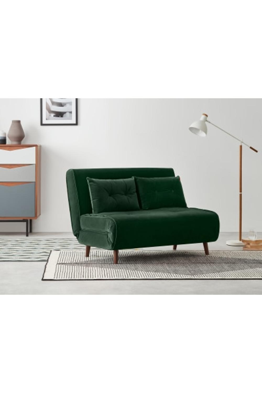 Made Pine Green Velvet Sofa Bed Small Sofa Sofa Bed Velvet Sofa Bed