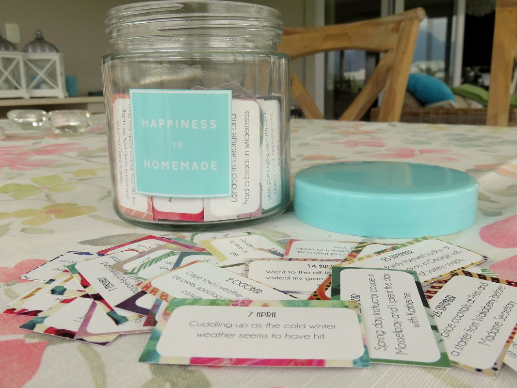 Happiness Jar Paper Anniversary
