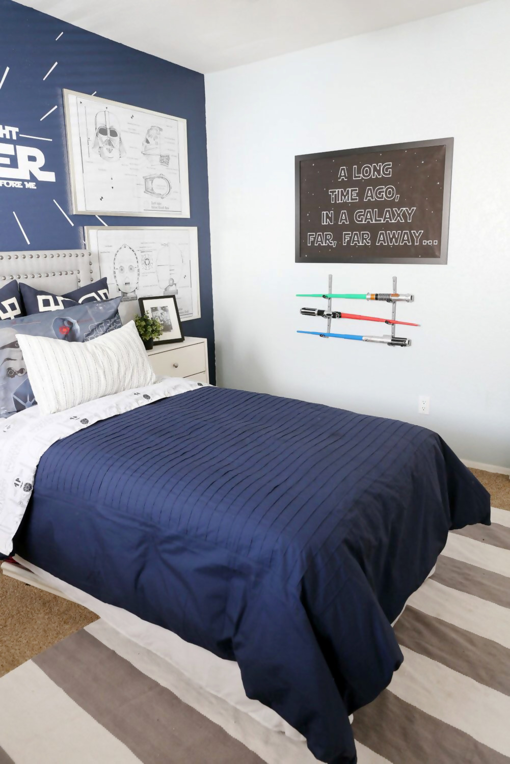 Cool Star Wars Bedroom Decor Ideas With Images Star Wars Bedroom Star Wars Bedroom Decor Star Wars Room Decor
