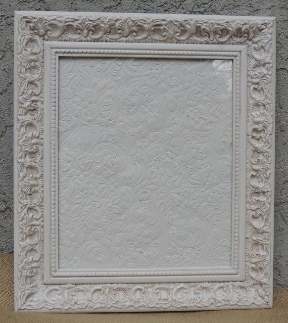 10x12 White Picture Frames Vintage Picture Frame Frame White Picture Frames Gallery Wall Frames White Wedding Frame