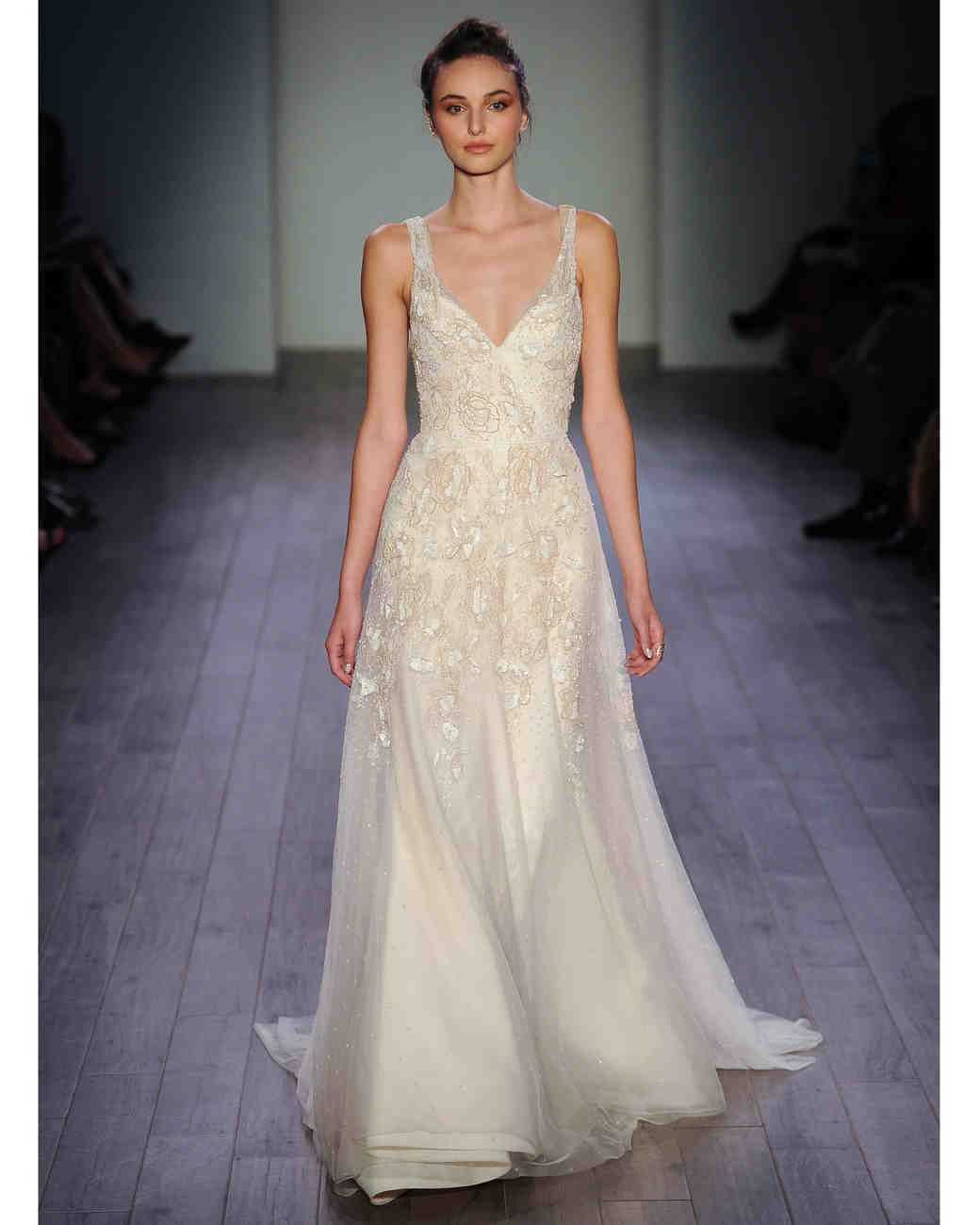 Straight from the runway, bridal designer Jim Hjelm's ...