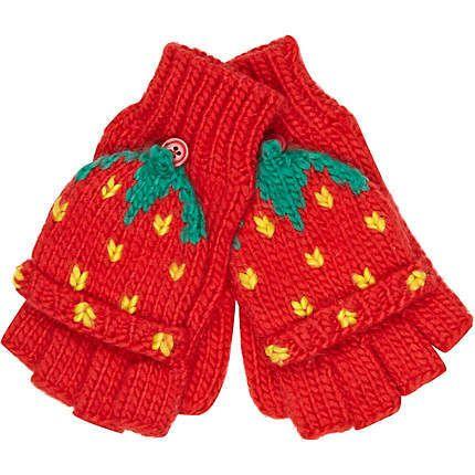 Strawberry Gloves