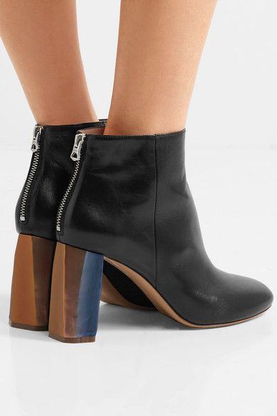 0b1019b608ac9b Acne Studios - Cliffie leather ankle boots | Shoes | Leather ankle ...