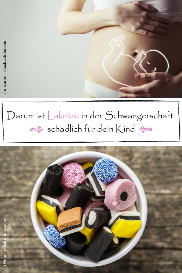 lakritze in der schwangerschaft