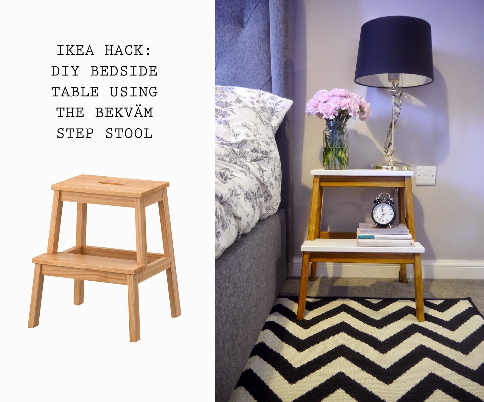 "Ikea Hack Bedside Tables"""