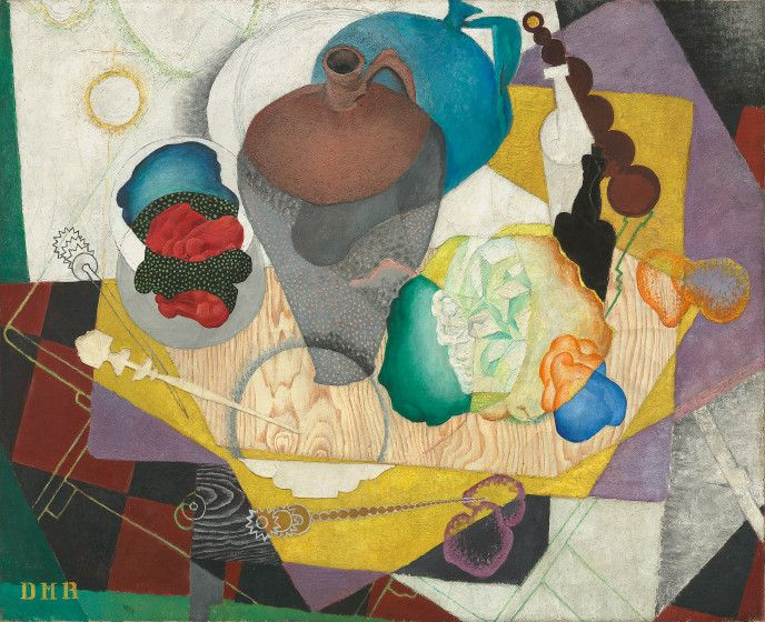 The Cubist Paintings of Diego Rivera