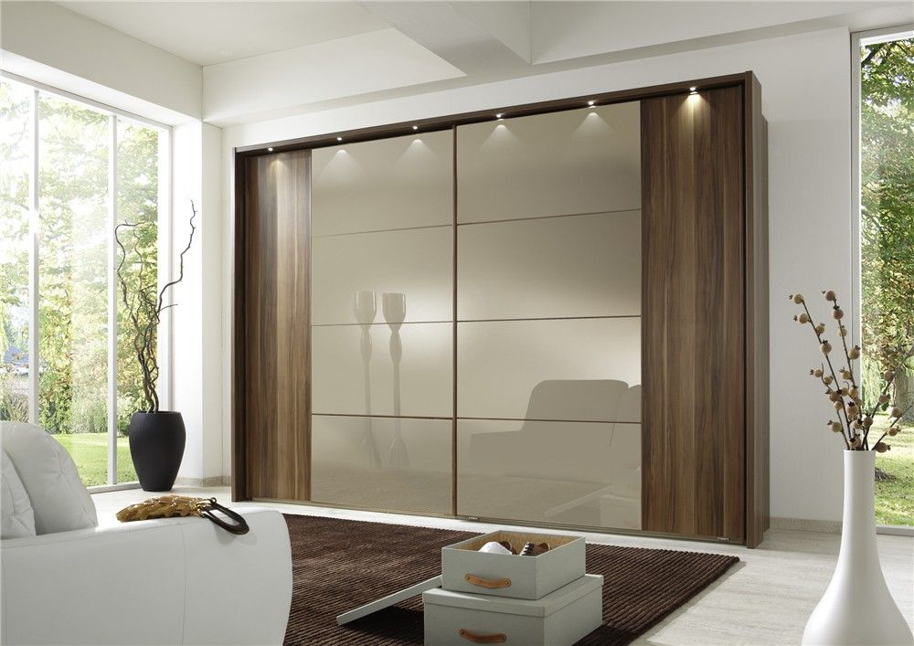 The Options For Sliding Wardrobe Doors Are Endless Mirrors Glass - Bedrooms glass sliding doors