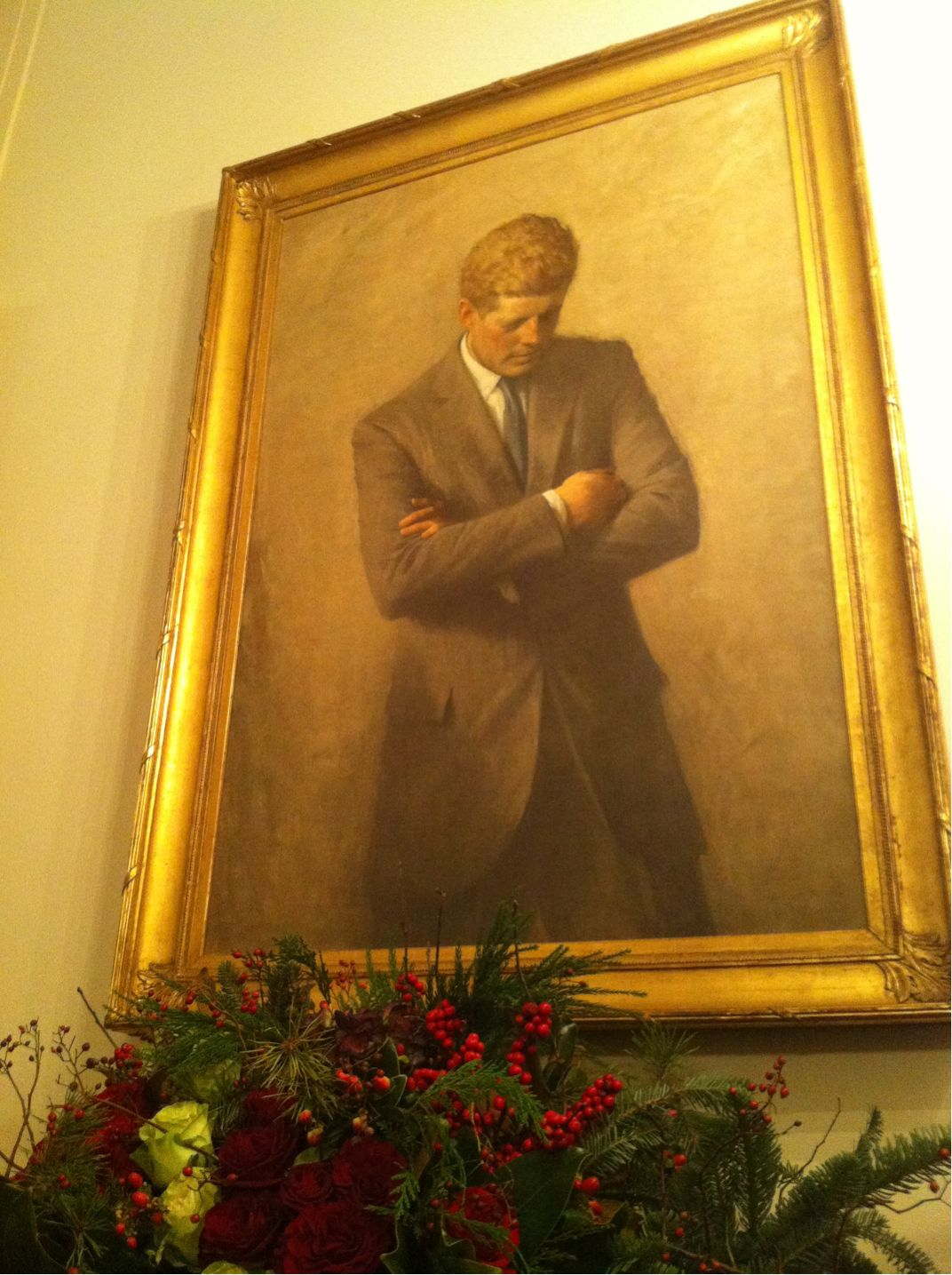 Jfk Portrait In The White House Jfk Portrait Portrait