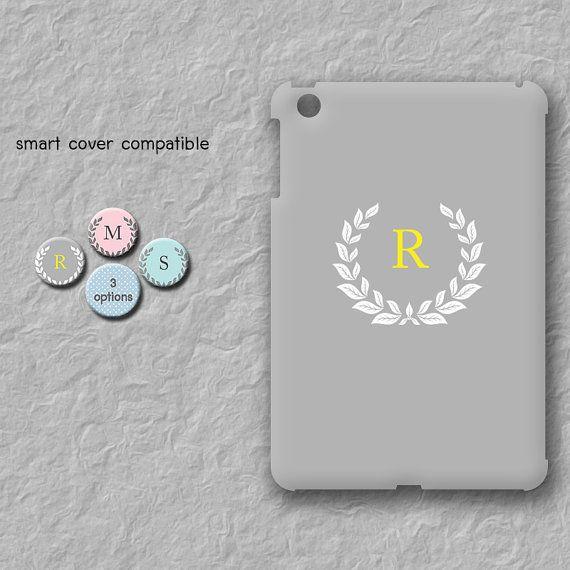 Monogram iPad mini case Personalized case for iPad mini Custom initial iPad mini cover