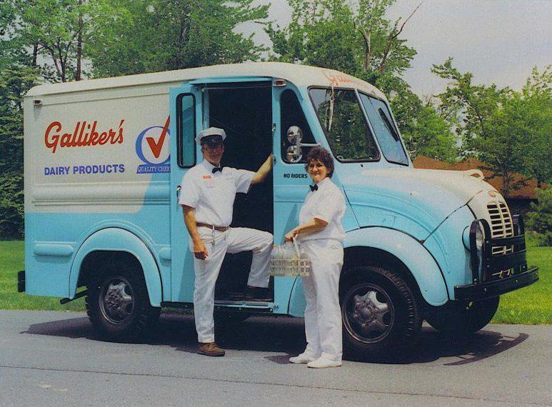 1950s Divco Milk Truck In Gary In We Had Dixie Dairy They Had In
