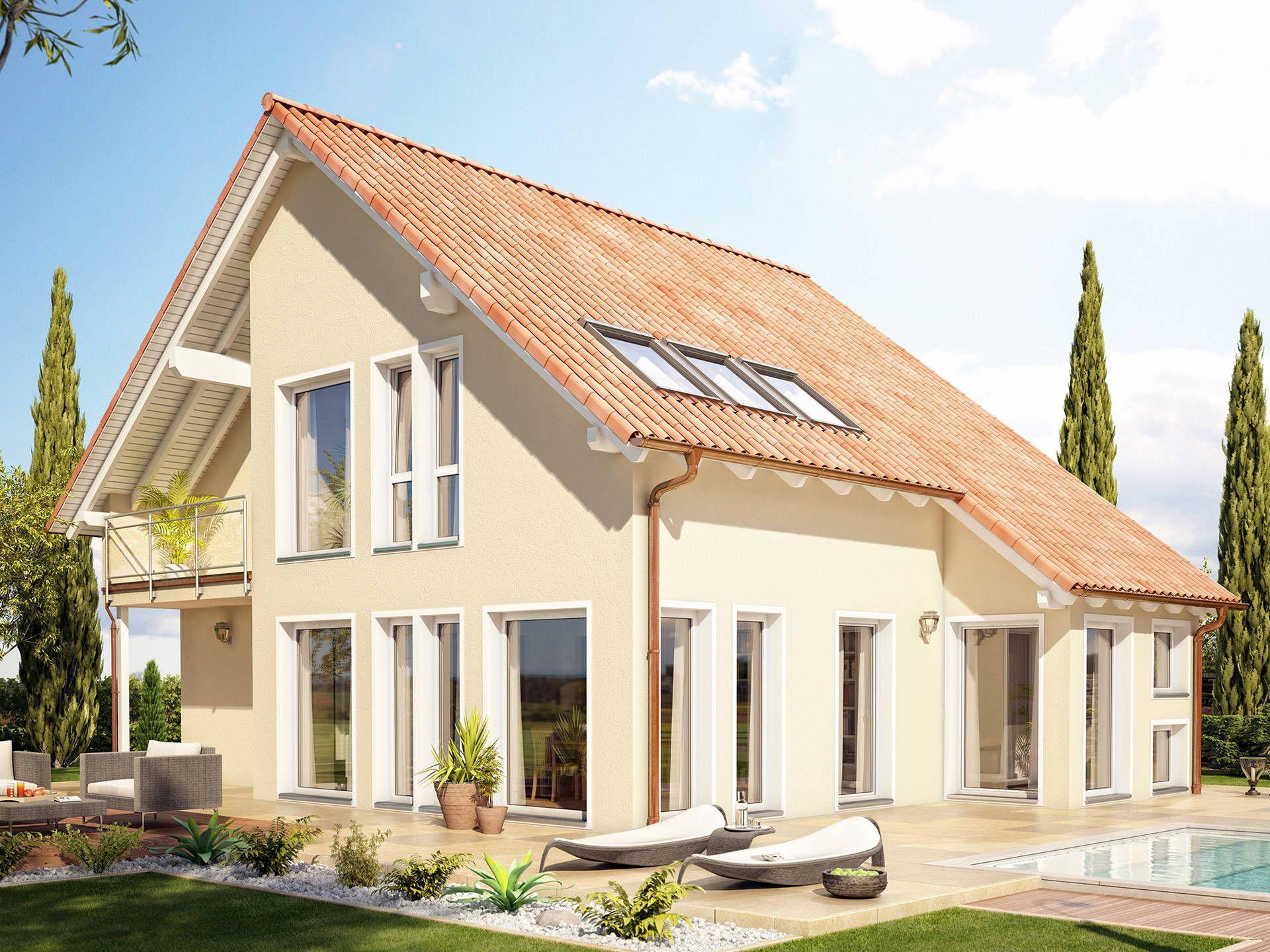 Musterhaus einfamilienhaus  Stadtvilla Winter • Mediterranes Haus von Fertighaus WEISS ...