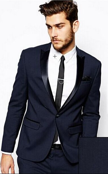 Aliexpress Italian Dark Gray Wedding Suits Men