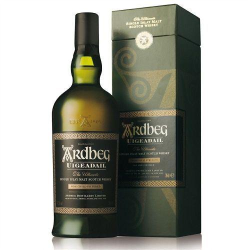 Ardberg Uigeadail 10 jaar Port Ellen Isle of Islay (Argyll)