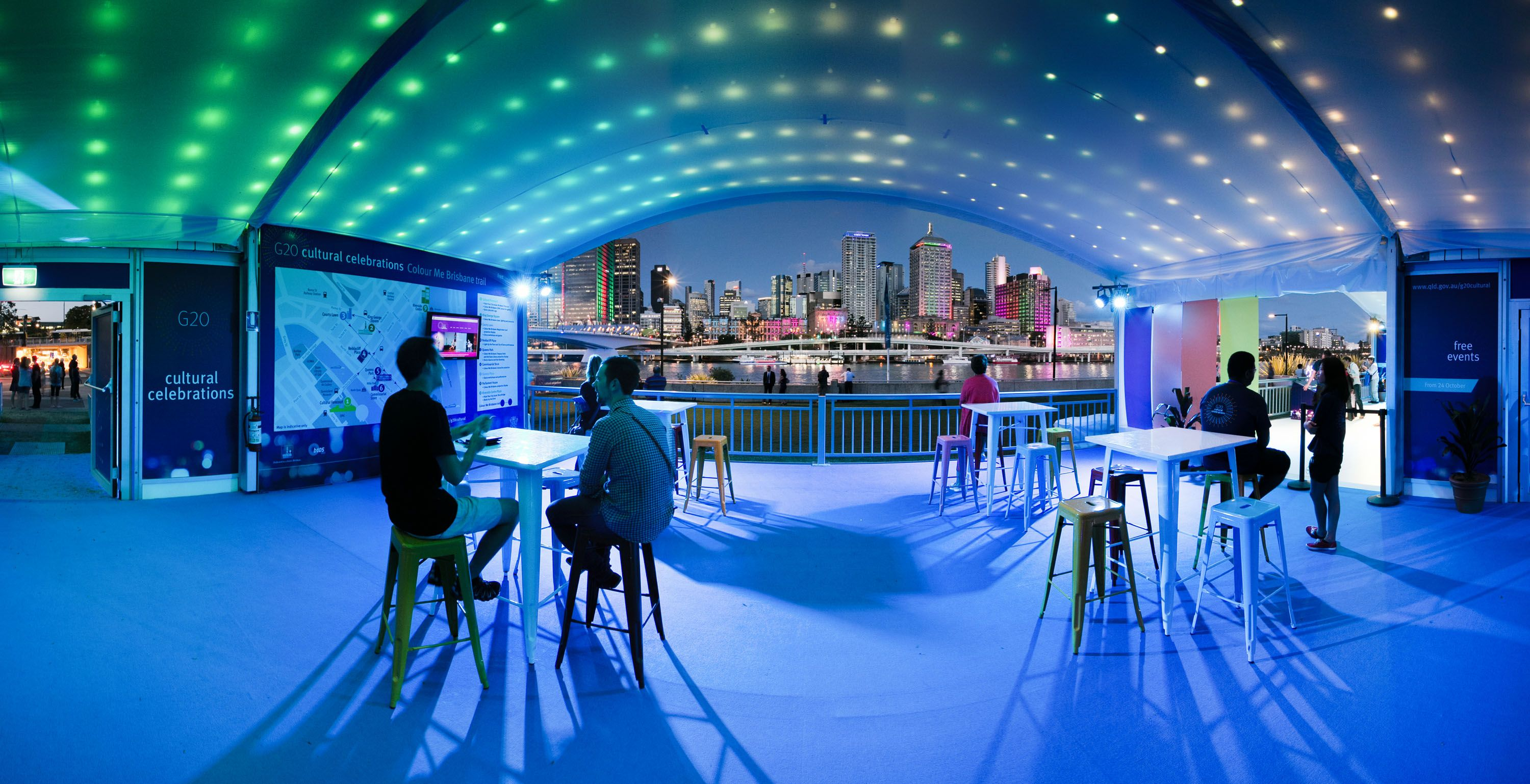 Curved roof marquee activation & Curved roof marquee activation | Events in Tents | Pinterest