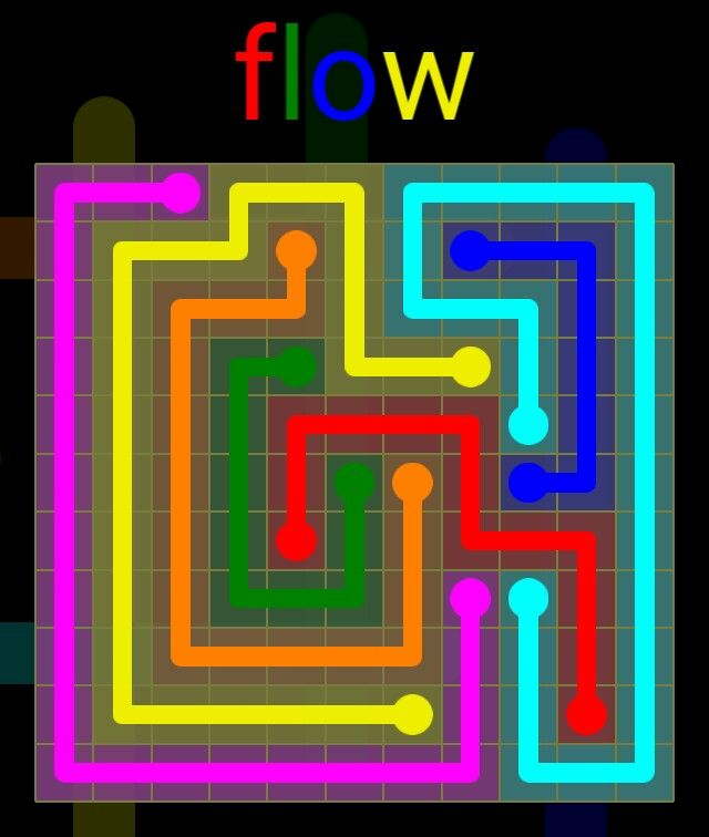 Flow Extreme Pack 2 - 11x11 - level 1 solution