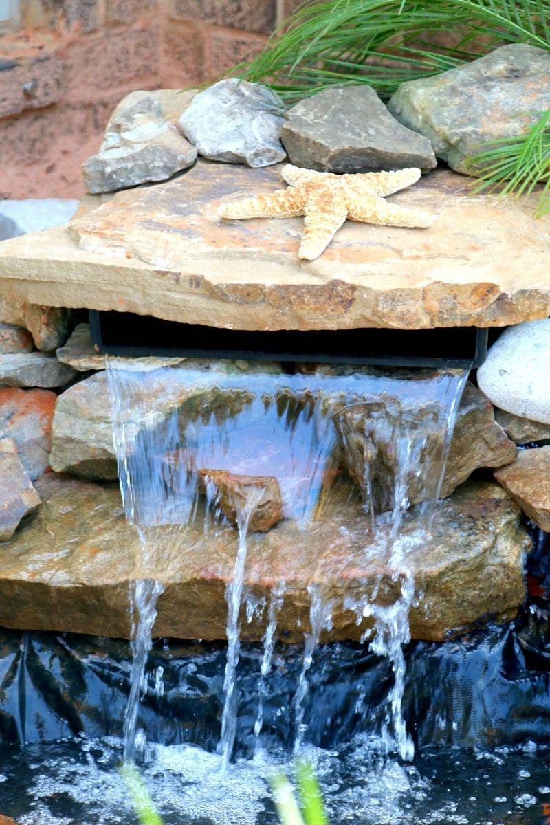 Build a pond diy diy pond waterfalls backyard