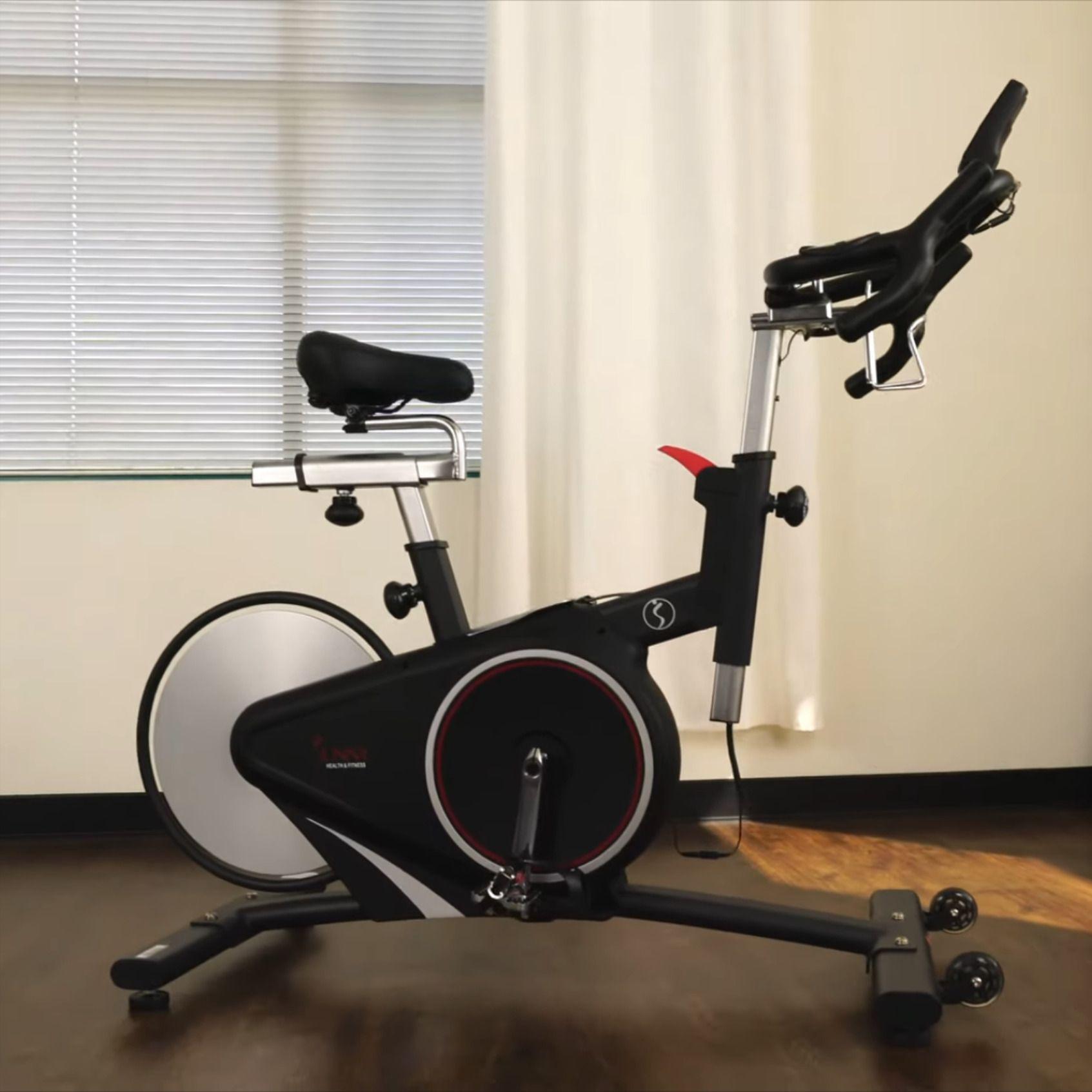 sunny health and fitness elliptical bike