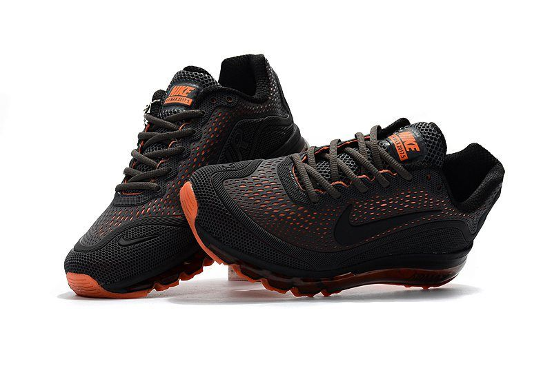 check out abd62 09eda Newest Nike Air Max 2017 +5 KPU Grey Black Orange Mens