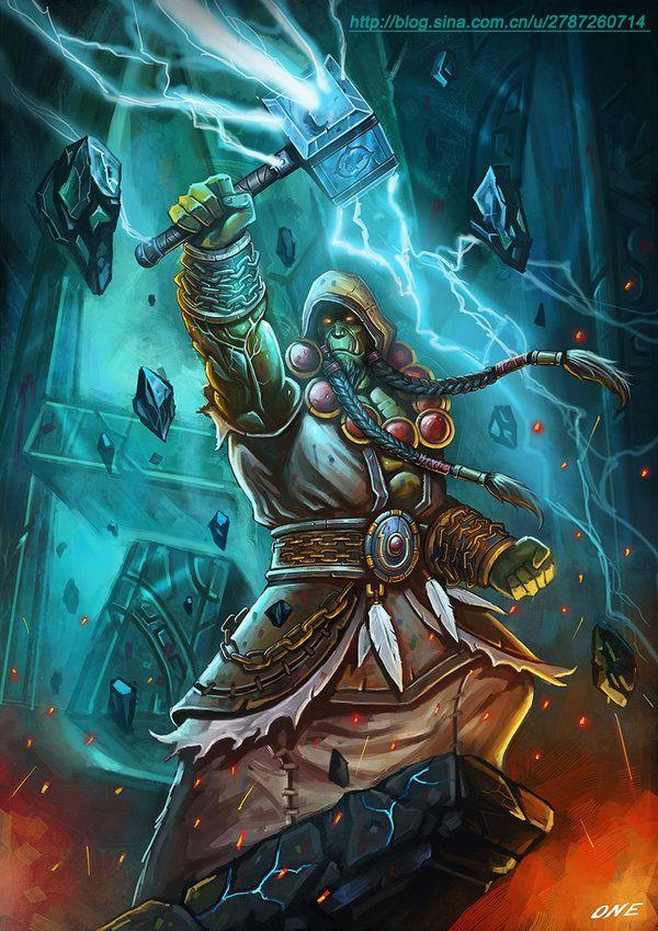 Thrall Warcraft Art World Of Warcraft World Of Warcraft Orc World of warcraft thrall wallpaper