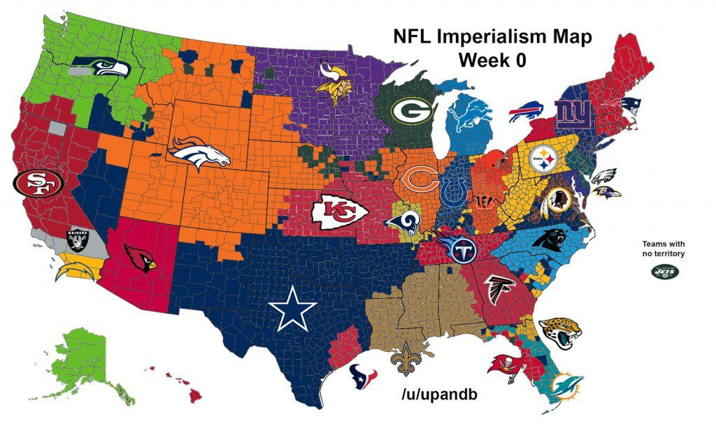 College Football Imperialism Maps Vivid Maps College Football Map College Football College Football Teams