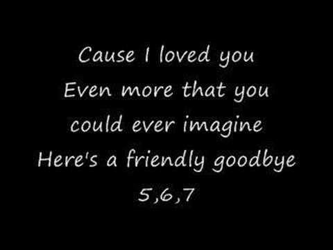 Bowling For Soup: Friendly Goodbye (FU) (lyrics) | Because sometimes ...